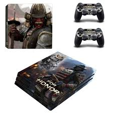 Game For Honor Ps4 Pro Skin Sticker Vinyl Decal Consoleskins Co