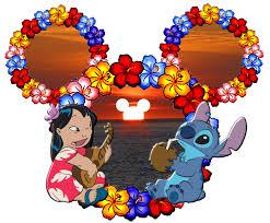 Cabezas De Mickey A Lo Lilo Stich Ideas Y Material Gratis