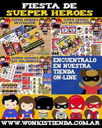 Super Heroes Todo Para Decorar Tu Fiesta