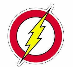 The Flash Decal Dc Comics Vinyl Sticker Die Cut Logo Theflash Speedsters