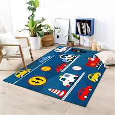 Blue Green Rug Kids Room Car Traffic Light Printed Boy Room Carpet Bedroom Living Room Area Rug Cushion Child Decoration Home Carpet Aliexpress