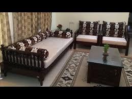 wooden sofa set indian seating