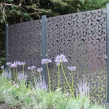 Branches Garden Screen 3 Panel Kit Aluminium S3i Group