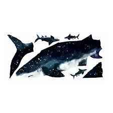 Roommates Shark Wall Decal