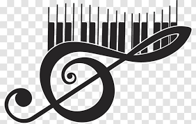 Wall Decal Musical Note Piano Theme Music Keyboard Take Dessine Clip Art Tattoo Transparent Png