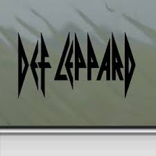 Buy Def Leppard Black Sticker Decal Uk Rock Band Black Car Window Wall Macbook Notebook Laptop Sticker Decal In Cheap Price On Alibaba Com