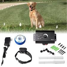 Updated Dogs Electric Fence Underground Wire Dog Containment Kits With Option For Remote Trainer Rich Transmitter Waterproof Rechargeable Collar For 2 Dogs With Tone And Shock Walmart Com