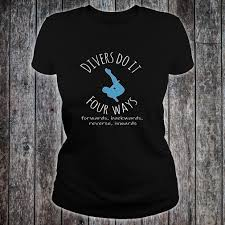 diving gift long sleeve t