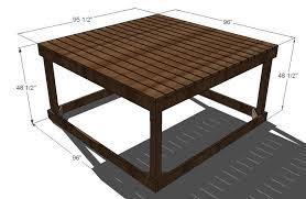build a simple playhouse deck ana white
