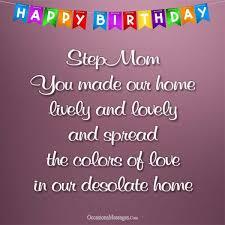 happy birthday wishes for stepmom