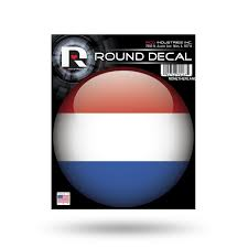 Fifa Netherlands 4 Round Vinyl Decal Sticker World Cup Soccer Copa Football For Sale Online