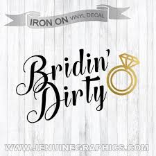 Iron On Decal Bachelorette Party Team Bride Iron On Etsy
