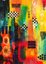 Play Room Game Room Kids Room Abstract Painting By Joi At The Ranch