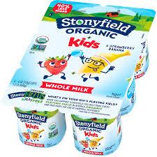 stonyfield organic kids strawberry