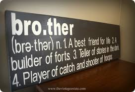 Brother Wall Sign Knockoffdecor Com