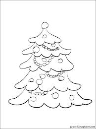 Kerstboom Met Speelgoed Om In Te Kleuren Gratis Kleurplaten