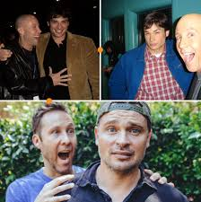 Tom welling and Michael rosenbaum ...
