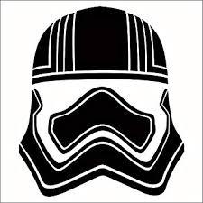 Amazon Com Cove Signs Captain Phasma Vinyl Decal Sticker Black 4 Star Wars Automotive