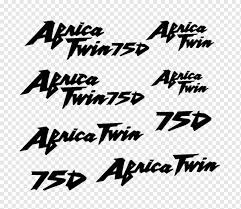 Honda Africa Twin Car Sticker Decal Honda Angle Text Logo Png Pngwing