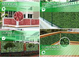 Suwning Top Selling Artificial Faux Leaf Fences For Garden View Artificial Leaves Sunwing Product Details From Sunwing International Co Ltd On Alibaba Com