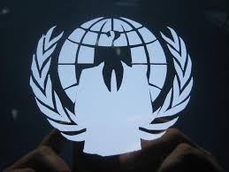 Sell Anonymous Crest Anon Globe Suit Vinyl Car Decal Sticker Graphics Motorcycle In Summerland Key Florida Us For Us 4 99