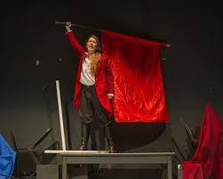 Juliet Smith as Enjolras – Yorktown Sentry