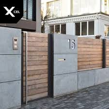 Modern Home Exterior Fence Design Ideas 2019 Modern Fence Vinyl Fence Cost Fence Stain