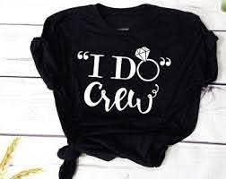 I Do Crew Iron On Etsy