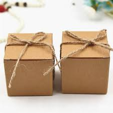 kraft paper wedding cans sweet box