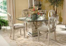 pedestal dining table with glass top 5