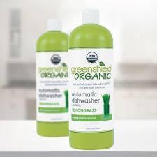 usda organic certified dish detergent