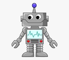Clipart Technology - Robot In Cartoon , Transparent Cartoon, Free Cliparts  & Silhouettes - NetClipart