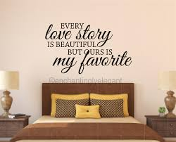 Every Love Story Is Beautiful Vinyl Decal Wall Stickers Letters Words Wedding Decor