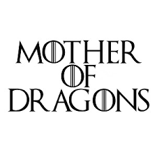 Game Thrones Mother Of Dragons Vinyl Sticker Car Decal