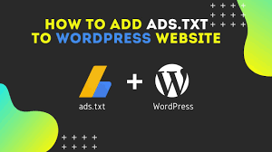 how to add ads txt to wordpress site