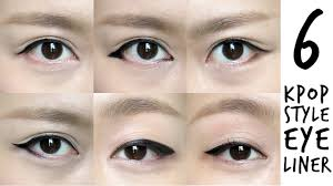 korean style eyeliner tutorial
