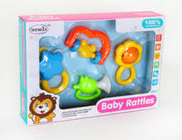 china 4pcs box baby rattle toys for 0