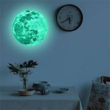Weant 20cm 3d Large Moon Planet Fluoresc Buy Online In Guernsey At Desertcart
