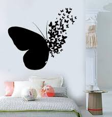 Wall Stickers For Bedroom Amazon Space Animal Nursery Unicorn Butterfly Art Childrens 3d Vamosrayos