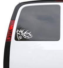 Auto Car Sticker Decal Deer Horn Head Hunter Animal Truck Laptop Windo Wallstickers4you