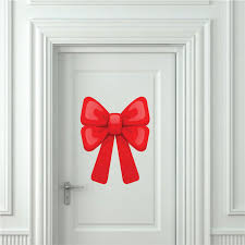 Large Bow Wall Decal Christmas Murals Primedecals