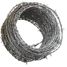 Barbed Wire No 12 X 30 Kilos Approximately 166 Meters Per Roll Shopee Philippines