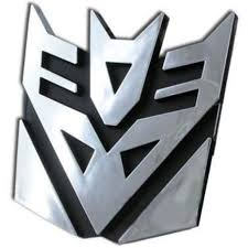 Transformers Decepticons Logo 3d Car Hood Ornament Decal Walmart Com Walmart Com