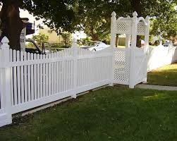 Pvc Arbors Double Virgin Vinyl Liberty Fence Railing