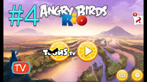 Angry Birds Rio 2 - Part 4 Blossom River - Gameplay walktrough ...