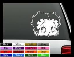 Betty Boop Vinyl Decal Auto Graphics Window Sticker 5 Ebay