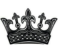 Crown King Queen Car Decal Sticker Ebay