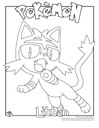 Litten Coloring Page Woo Jr Kids Activities Kleurplaten