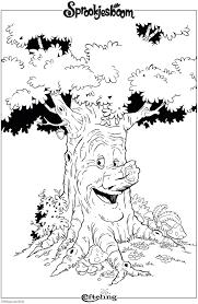 Sprookjesboom Efteling Kleurplaat Kleurplaten Sprookjesboom