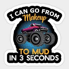 funny makeup 4x4 t shirt mud in 3